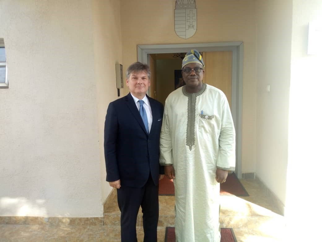 Courtesy visit of the Permanent Secretary of the Federal